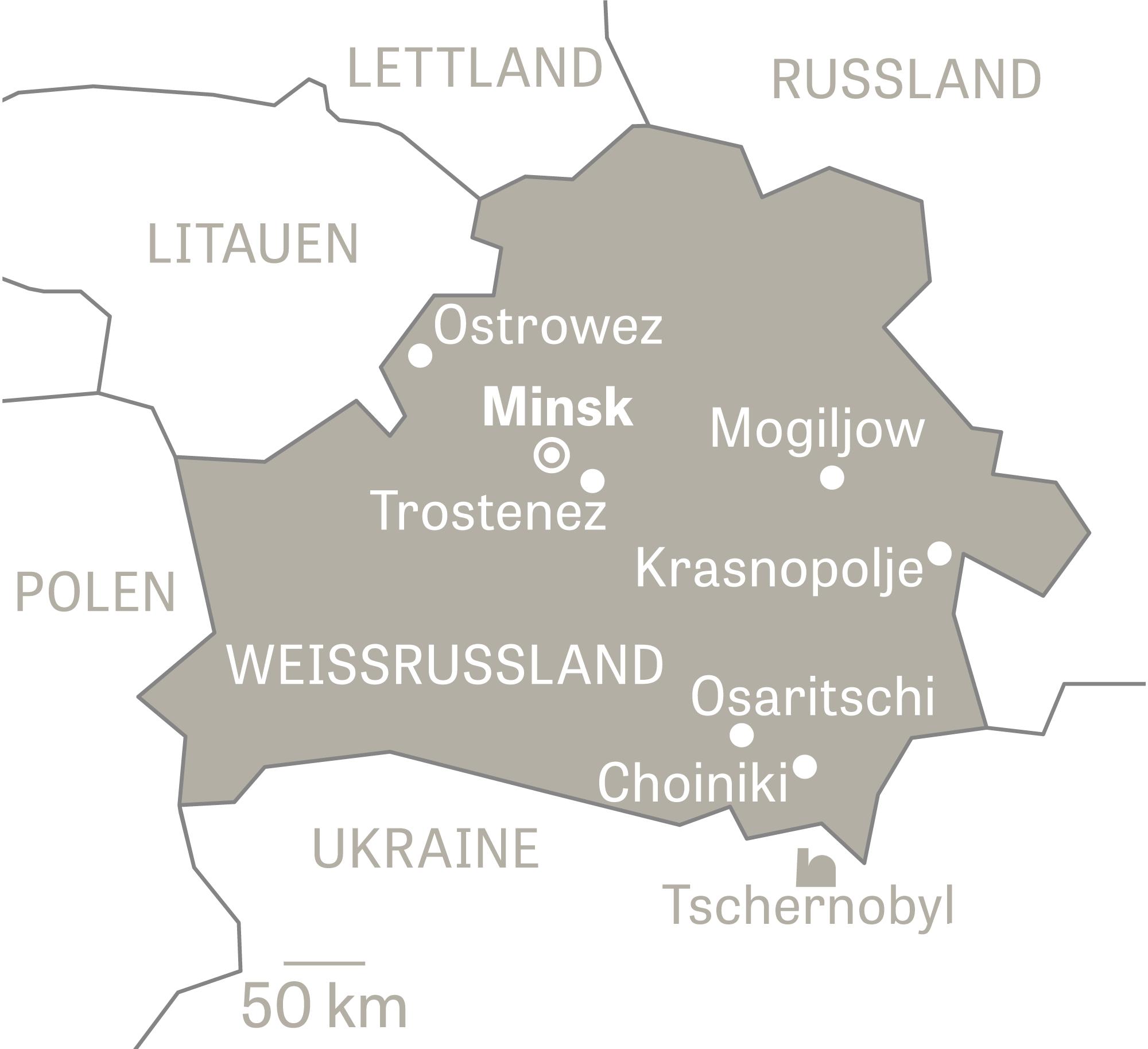 Tschernobyl Karte.Belarus Unterwegs Mit Dem Geigerzähler Zeit Online