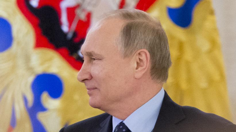 Krieg in Syrien: Der russische Präsident Wladimir Putin