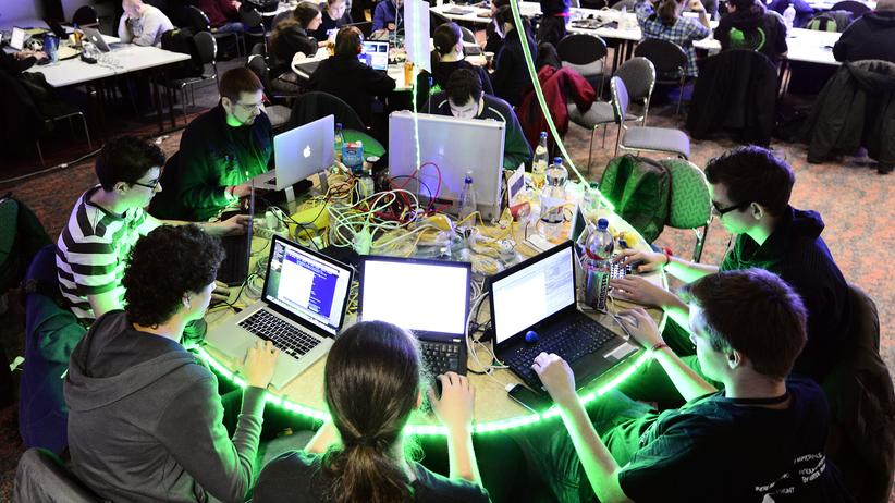 Chaos Computer Club: Teilnehmer des Chaos Communication Congress in Hamburg