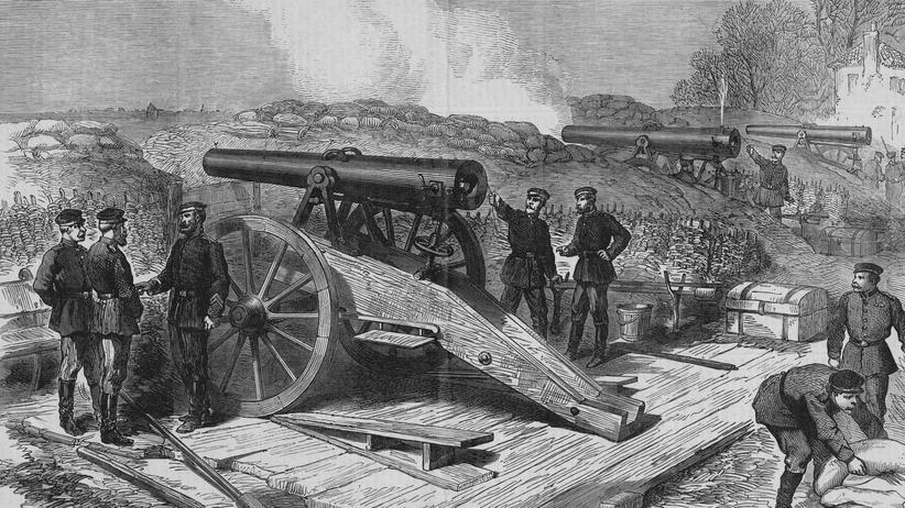Deutsch-Französischer Krieg: Belagerung vor Paris während des Dreißigjährigen Krieges