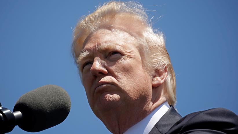 US-Präsident: Der us-amerikanische Präsident Donald Trump