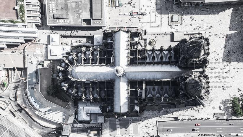Kirche: Blick auf den Kölner Dom