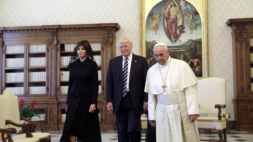 Besuch im Vatikan: Ein bisschen Frieden