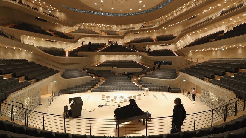 Elbphilharmonie: Die Elbphilharmonie wird Anfang Juli Schauplatz eines exklusiven Konzerts.