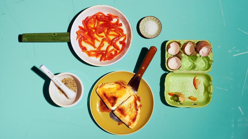 Omelett mit Paprika: Die Ampelkoalition