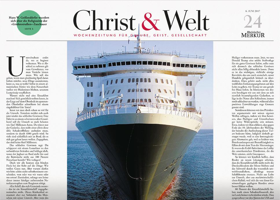 Christ & Welt 24/2017