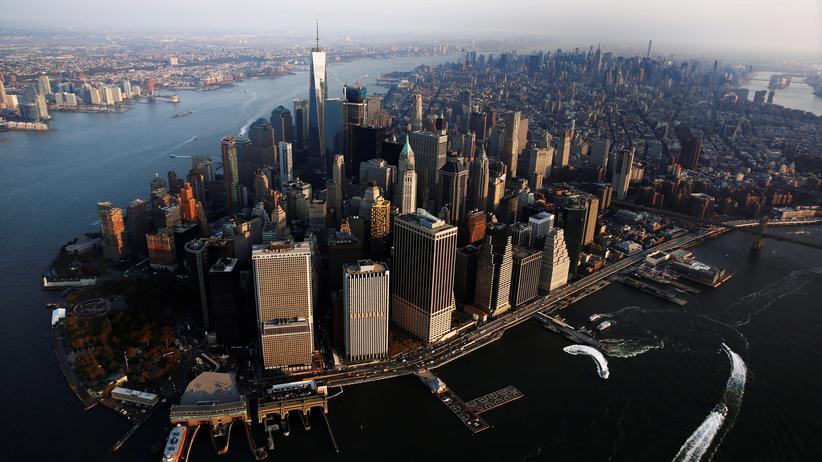 New York: Blick auf Manhattan