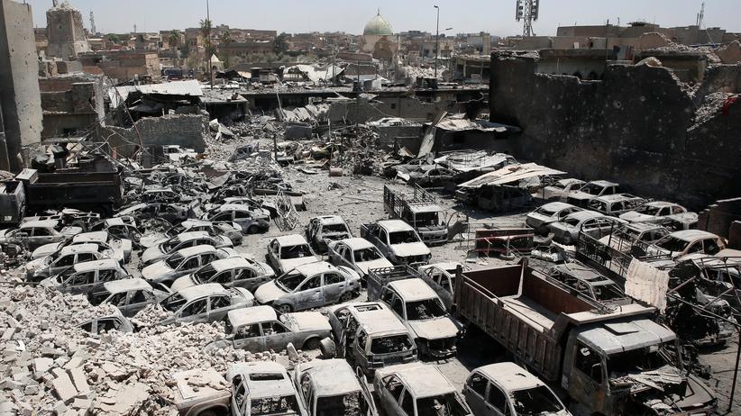 Al-Nuri-Moschee: Ein Herz für Steine