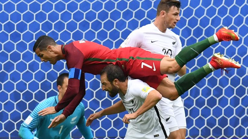 Confederations Cup: Die Putin-Party ist in vollem Gange