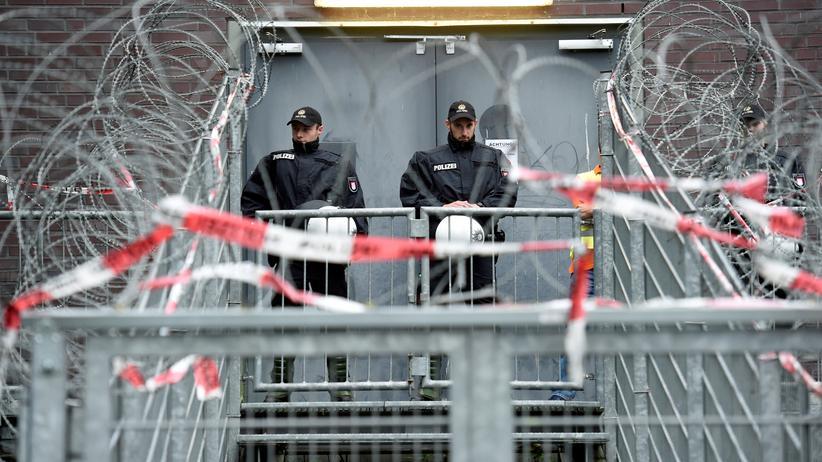 G20-Demonstration: Mehr als 20.000 Polizisten sollen den Gipfel beschützen.