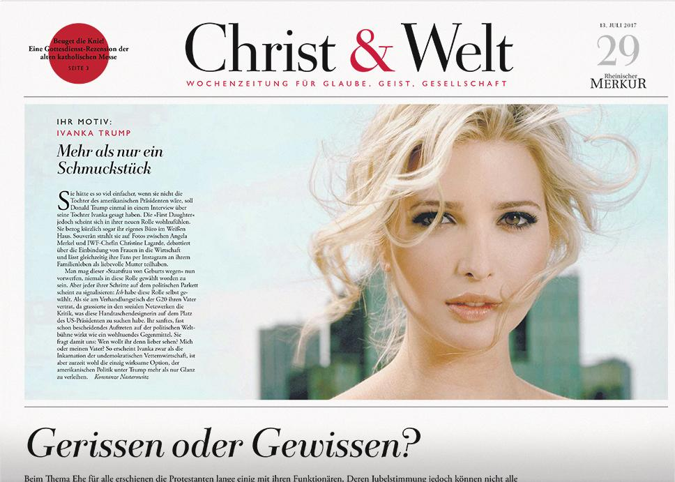 Christ & Welt 29/2017