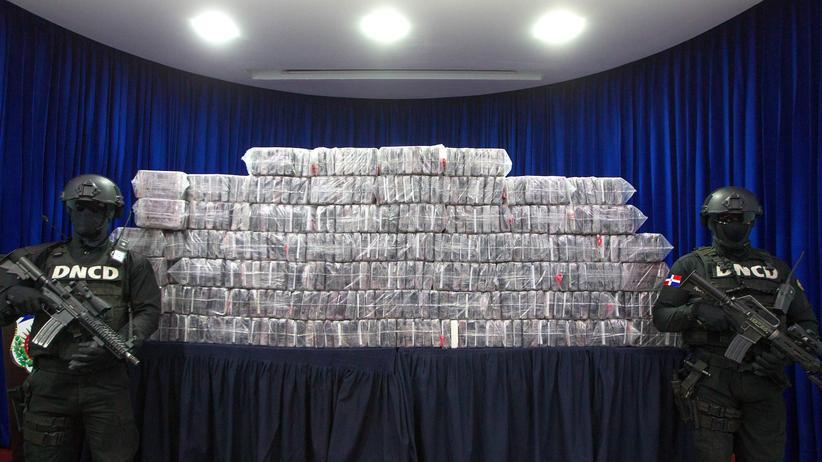Kokain: Mehr als 390 Kilogramm Kokain wurden im April in Santo Domingo sichergestellt.