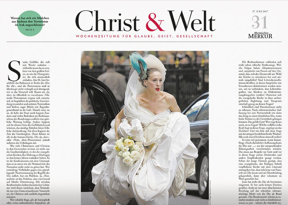 Christ & Welt 31/2017