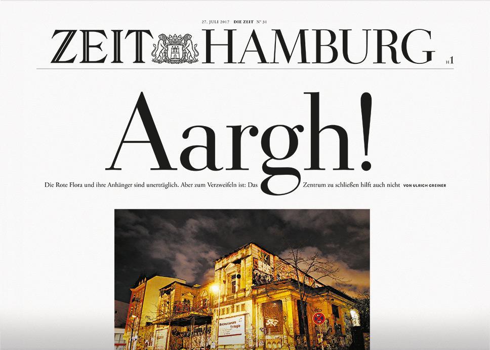 DIE ZEIT Hamburg 31/2017