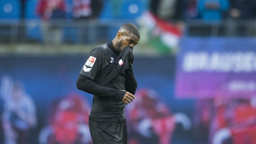 Anthony Modeste beim Spiel des 1. FC Köln gegen RB Leipzig