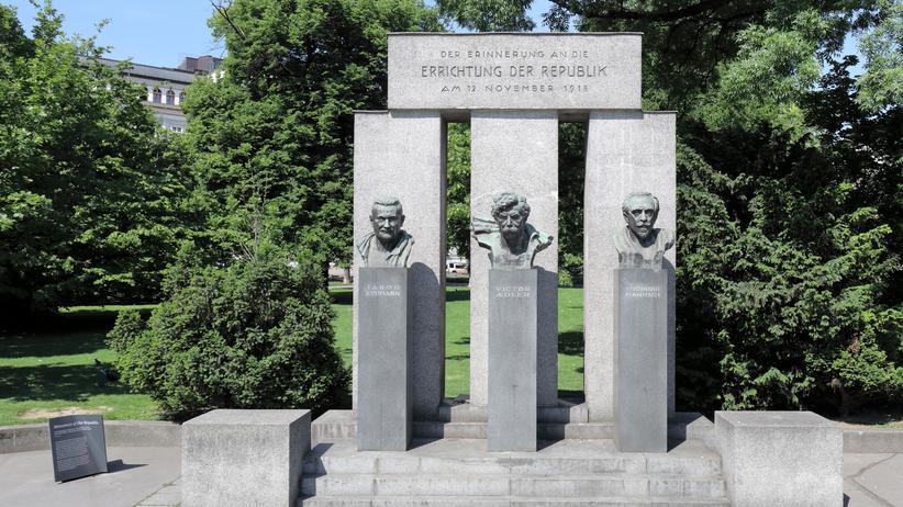 """""""Die gescheiterte Republik"""": Das Denkmal der Republik in Wien"""