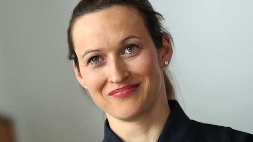 Nicola Baumann: Erst Kampfjet, dann Rakete