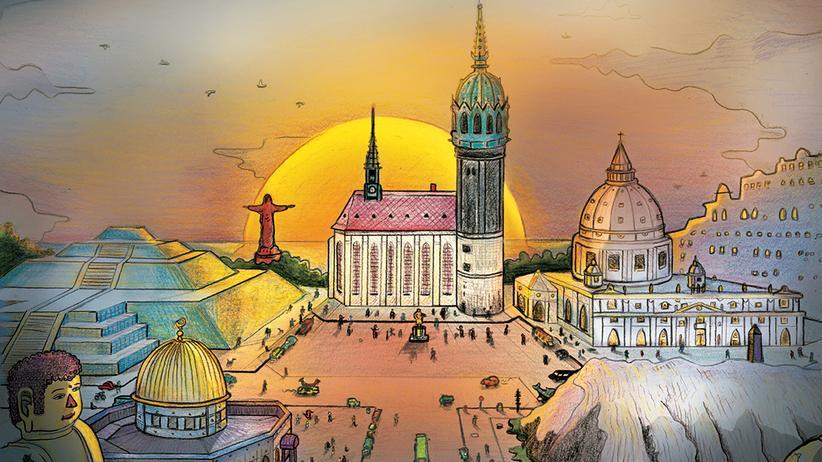 Lutherjahr: Wittenberg: Im Lutherjahr eine Metropole der Religion
