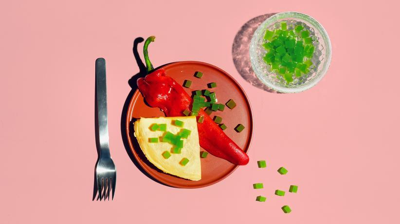 Omelett mit Gurken und Sellerie: Das Gurkenexperiment