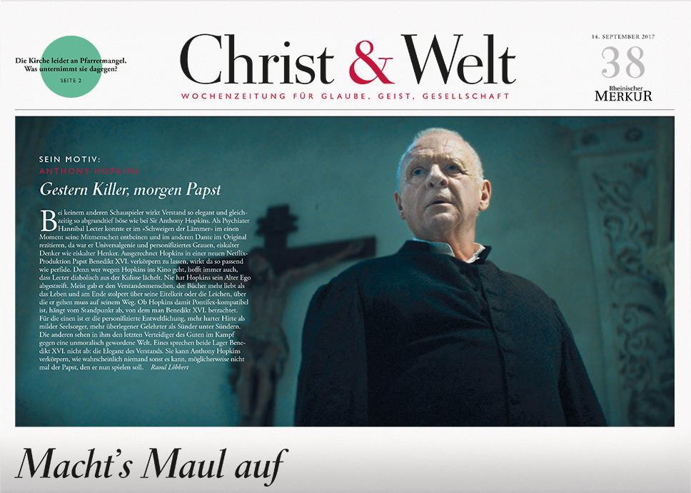 Christ&Welt 38/2017