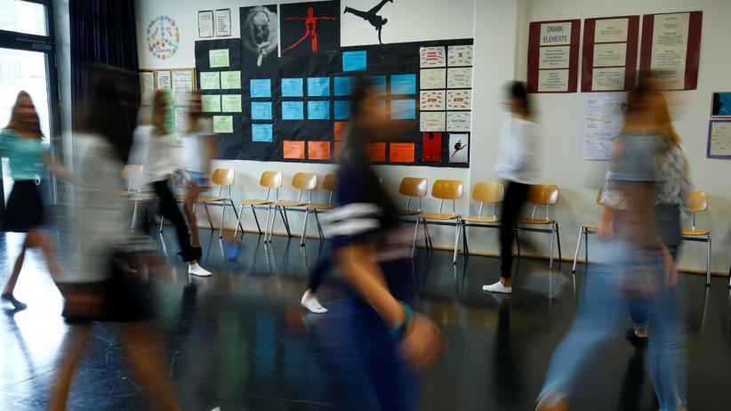 Lehrer: Bewegung im Klassenzimmer