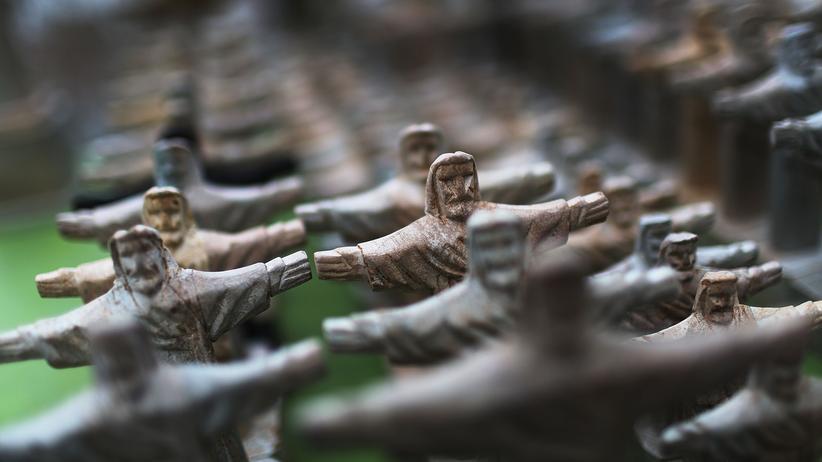 Historiker Volker Reinhardt: Jesusfiguren in Brasilien