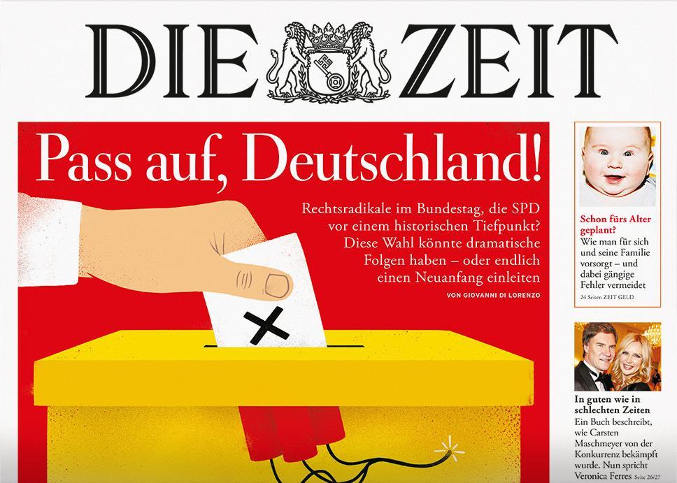Wahlentscheidung: Pass auf, Deutschland! | ZEIT ONLINE