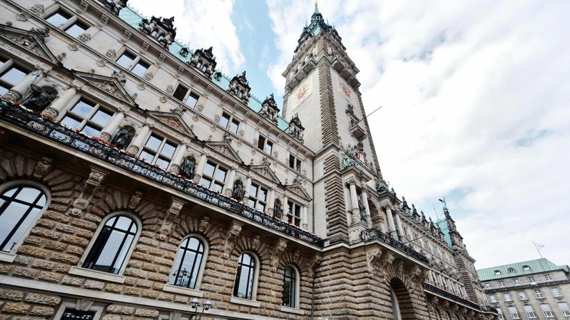 Bundestagswahl: Das Hamburger Rathaus