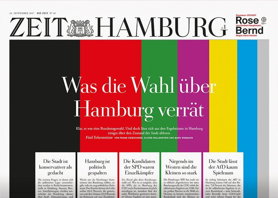 DIE ZEIT Hamburg 40/2017