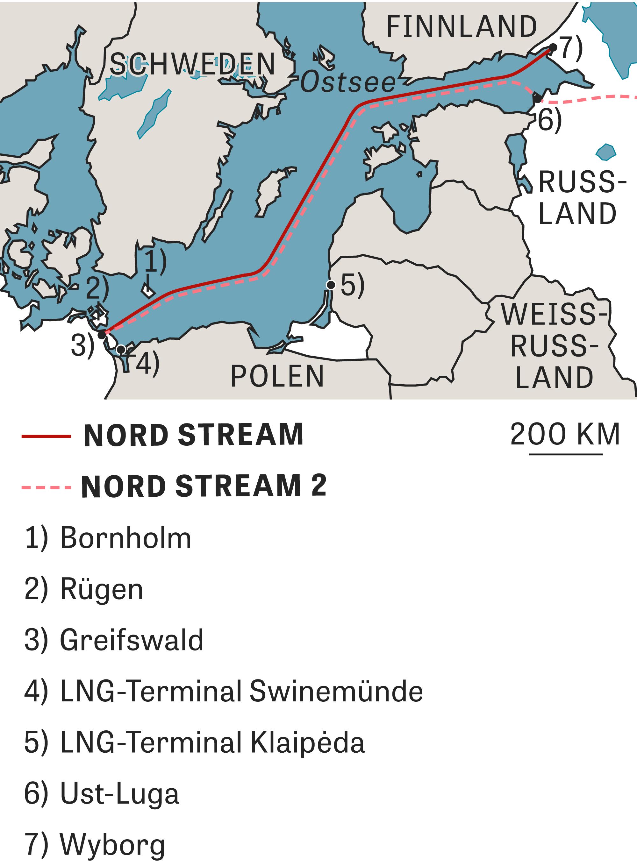 Nord Stream 2 Karte.Nord Stream 2 Vorsicht Gas Zeit Online