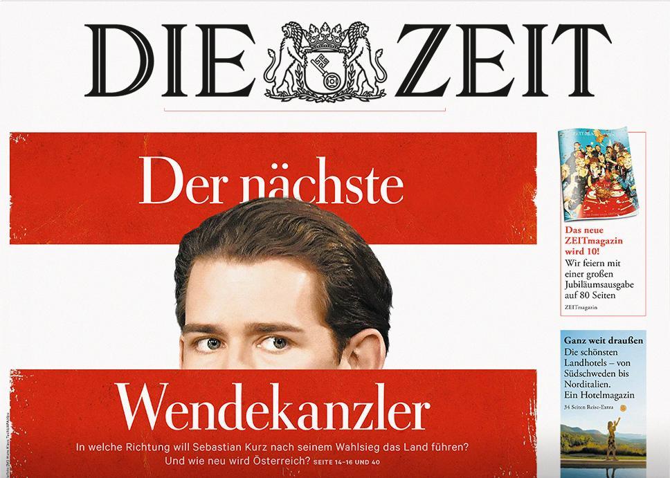 DIE ZEIT Österreich 43/2017