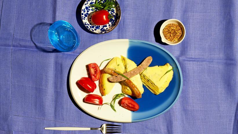 Omelett mit Estragon: Das unterschätzte Kraut