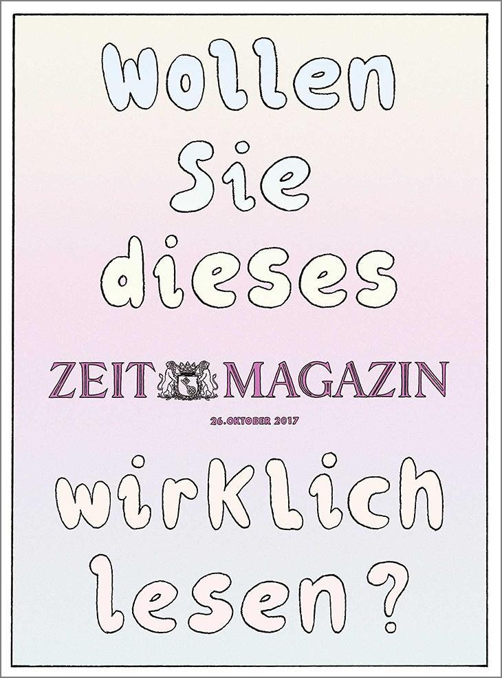 ZEITmagazin 44/2017
