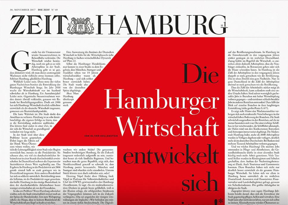 DIE ZEIT Hamburg 49/2017