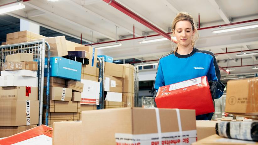 Hermes-Chef Frank Rausch: Vom Lager zur Haustür: Bis zu 200 Pakete muss ein Hermes-Bote am Tag zustellen