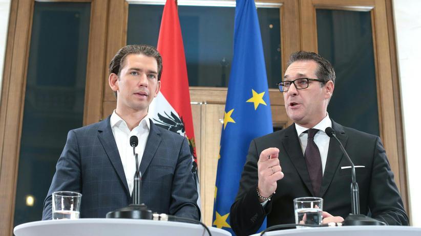 ÖVP und FPÖ: Wird sich die EU mit dem freiheitlichen Koalitionspartner von Sebastian Kurz arrangieren können?