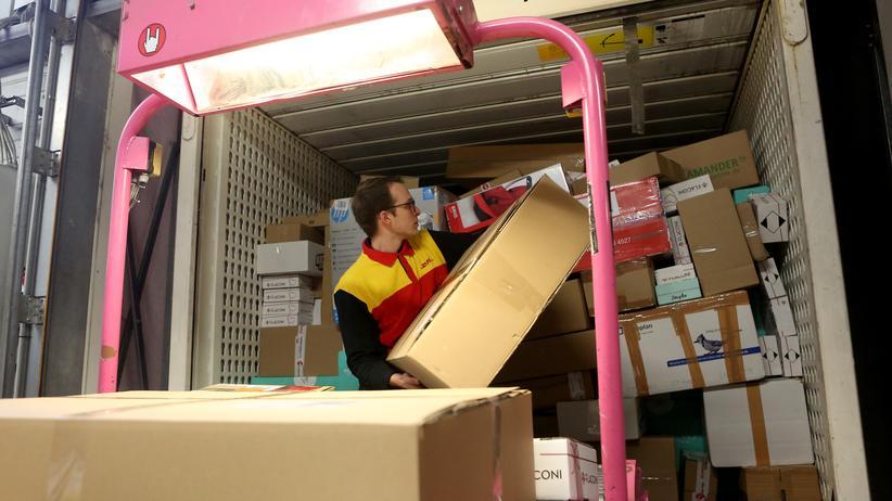 Paketzustellung: Anpacker gesucht