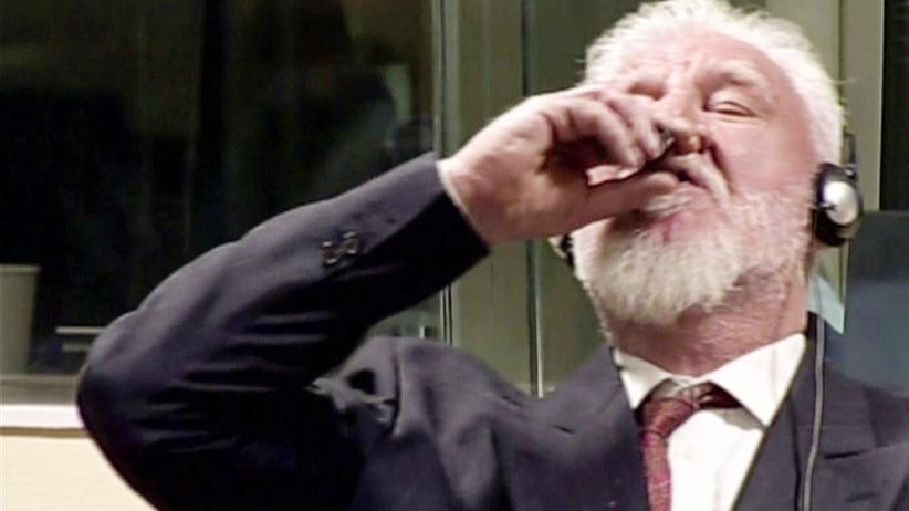 Slobodan Praljak: Zum Schluss ein Fläschchen Gift: Slobodan Praljak in Den Haag