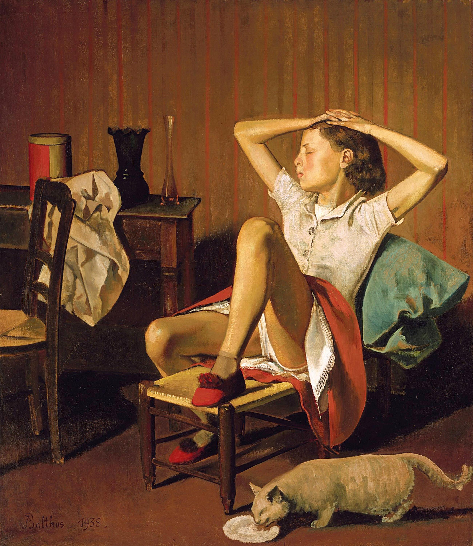 """Sexismus in der Kunst: Darf man das noch zeigen? Balthus' """"Träumende Thérèse"""" von 1938"""