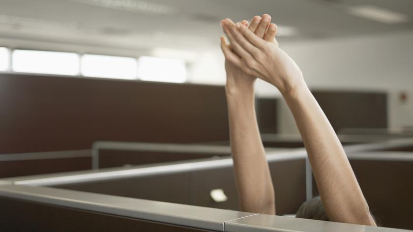 """Arbeitnehmer: Mehr als 80 Prozent der Befragten ist es am wichtigsten, dass sie sich """"bei der Arbeit wohlfühlen""""."""