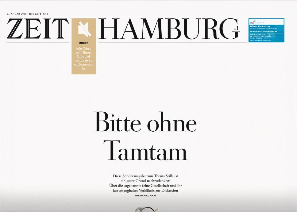 DIE ZEIT Hamburg 2/2018