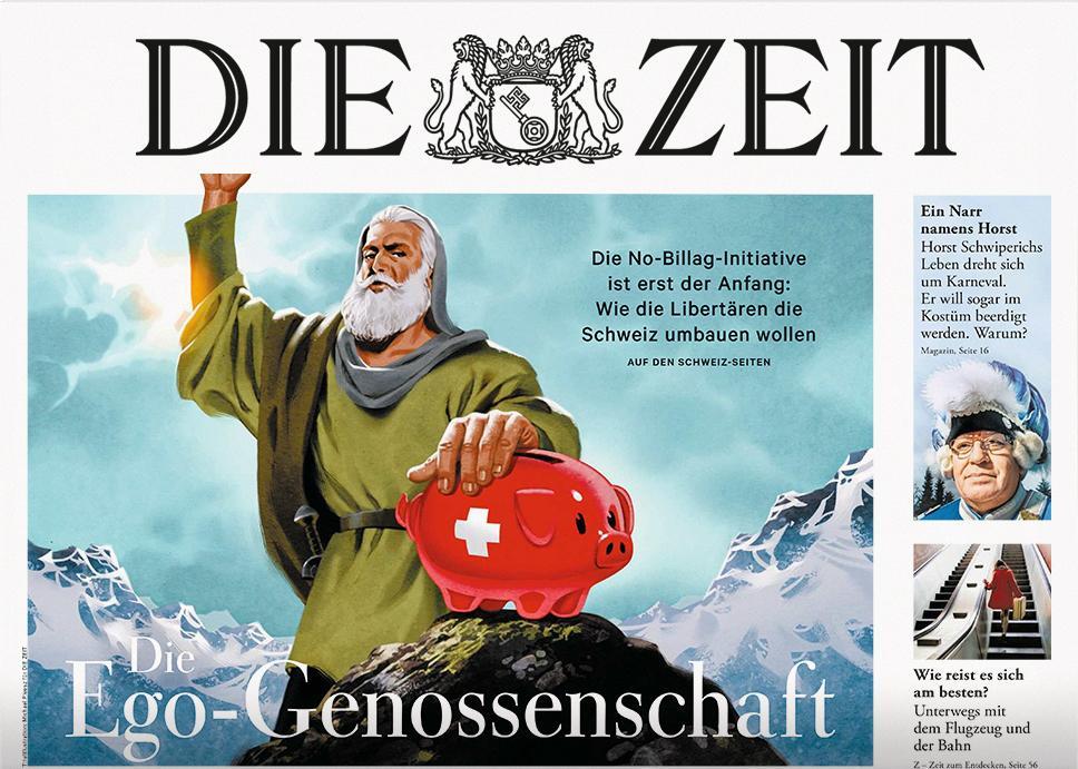 DIE ZEIT Schweiz 6/2018