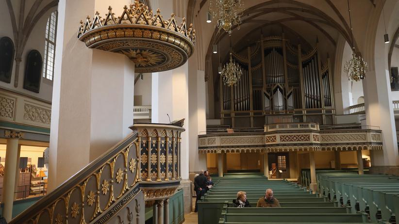 Kanzelrede: Wo Martin Luther einst predigte: Stadtkirche St. Marien zu Wittenberg
