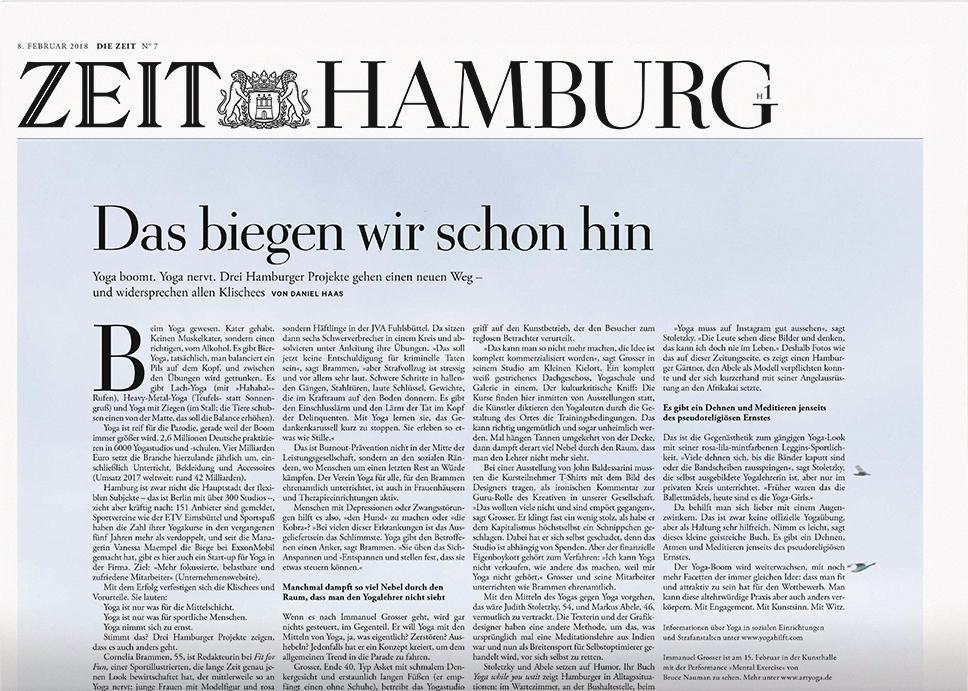 DIE ZEIT Hamburg 7/2018