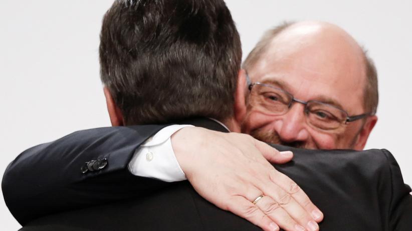 Sigmar Gabriel und Martin Schulz: Bruderzwist