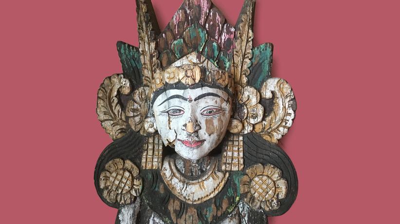 Souvenir: Balinesische Reisgöttin