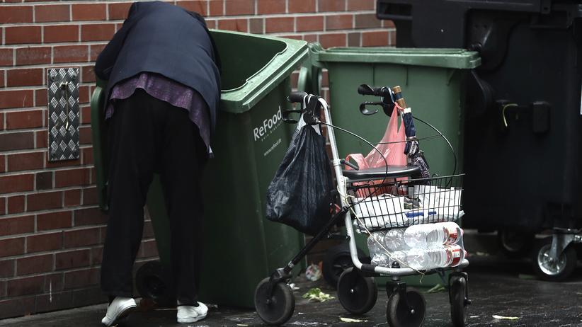 Vermögen: Die Altersarmut in Deutschland wächst.