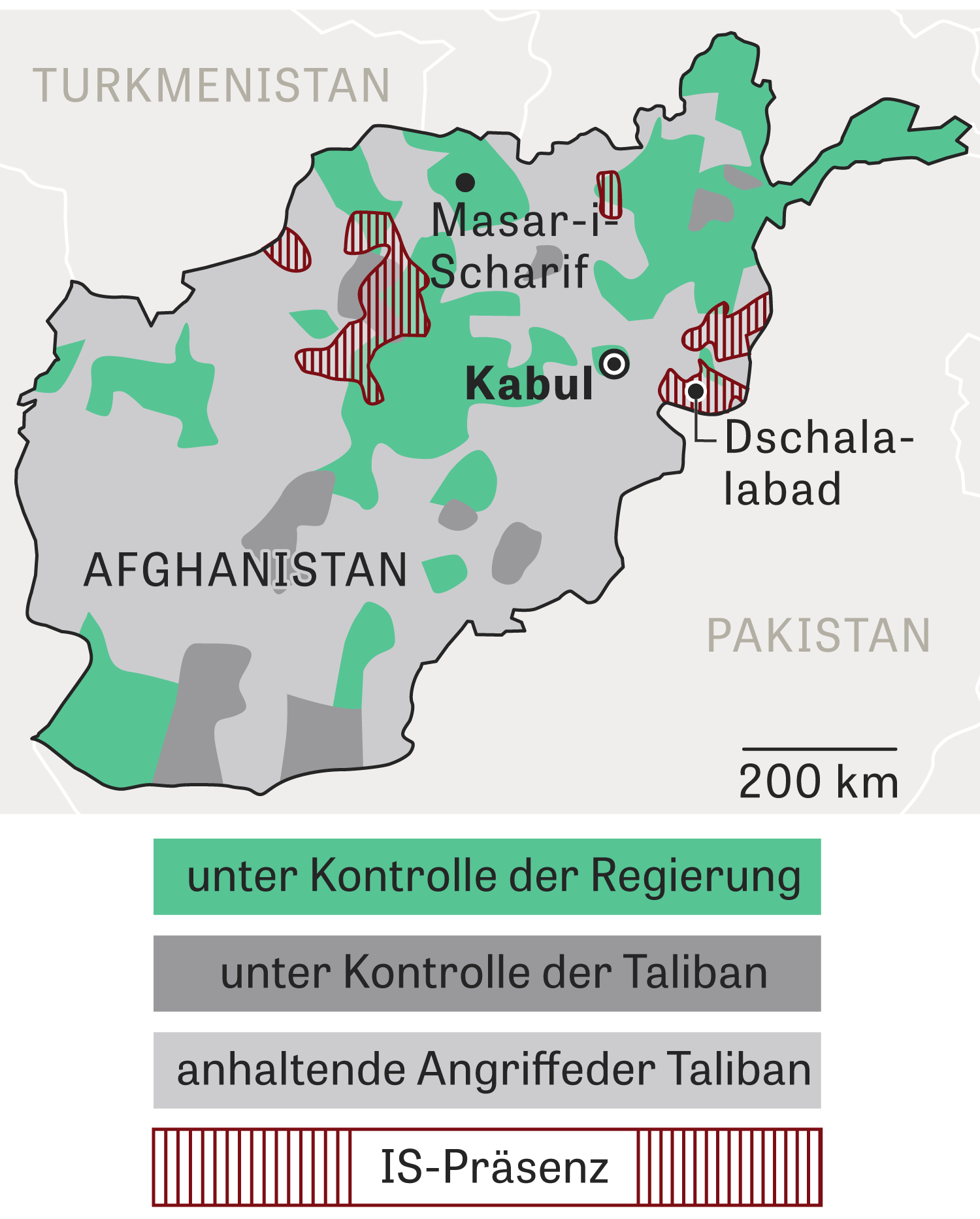 Afghanistan: Im Griff der Taliban