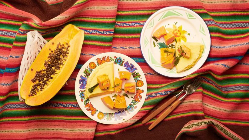 Papaya: Übersee-Omelett