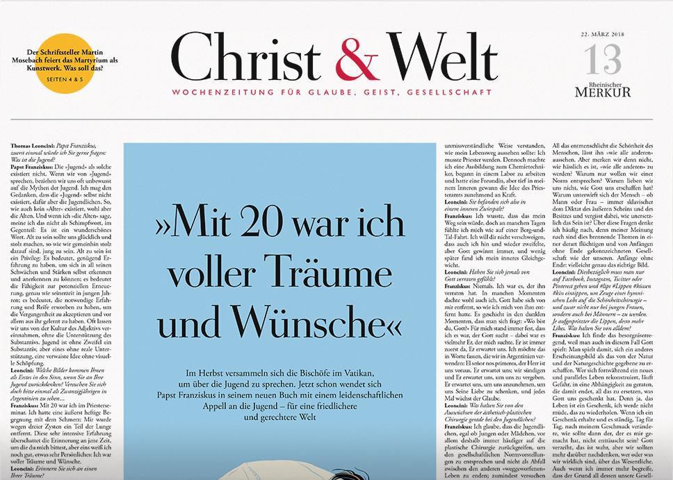 Christ&Welt 13/2018